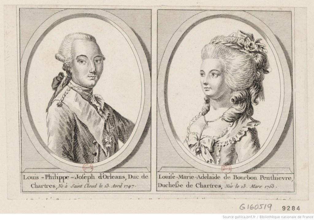 Louis Philippe's parents