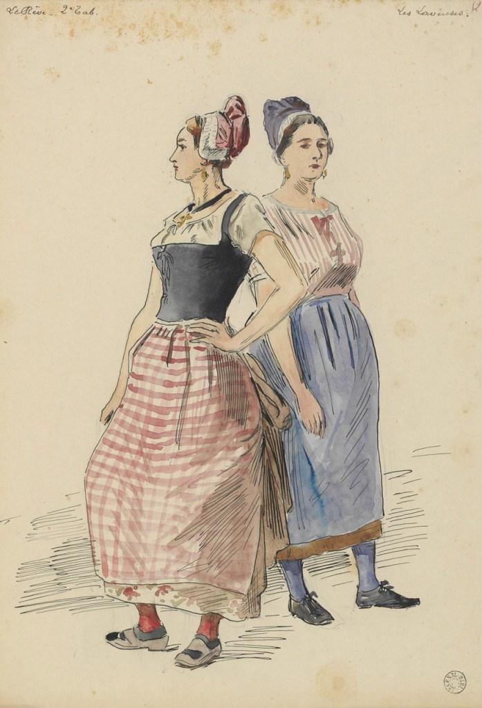 washerwomen of Paris