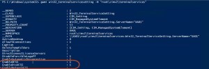 powershell settings