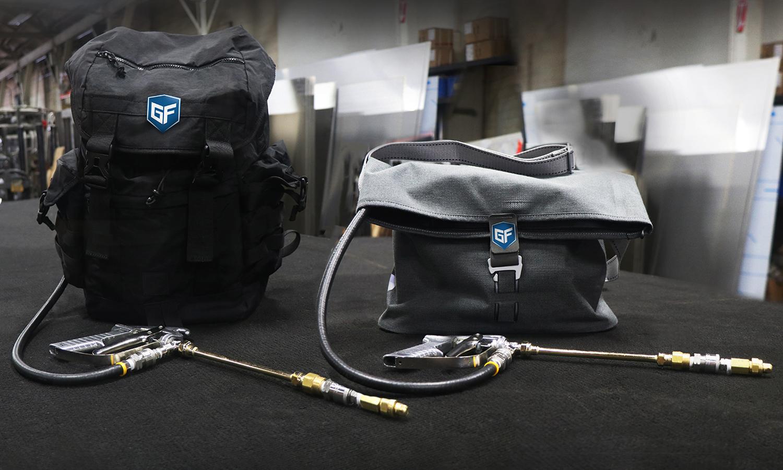 GF Sling and Backpack - Slide 1