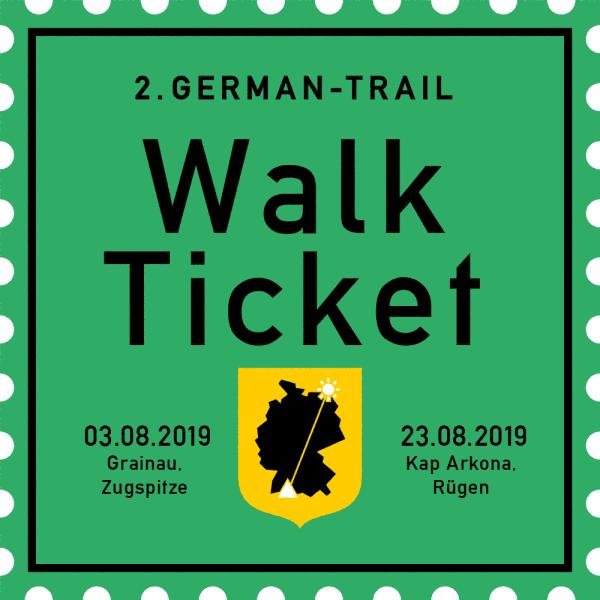 German-Trail Ticket Komplett 2019