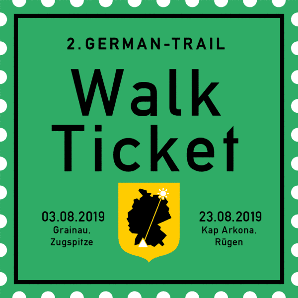 German-Trail Ticket Komplett 2019