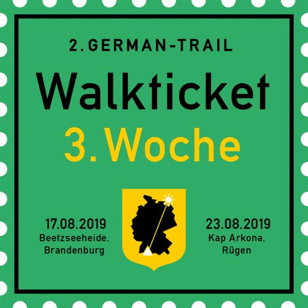 German-Trail-Ticket Woche 3 2019