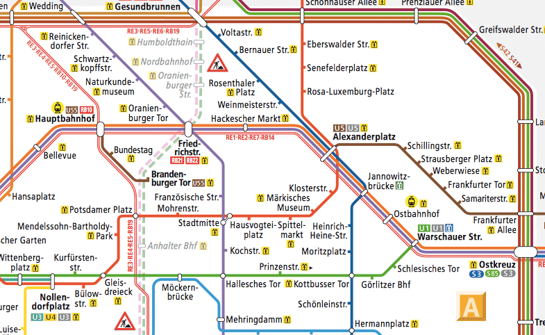 München u-bahn zonen plan PLAN DER