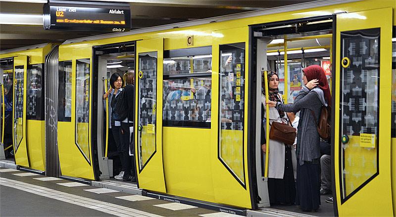 U-Bahn U2 Berlin