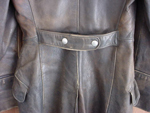 German Officer's Leather Great Coat