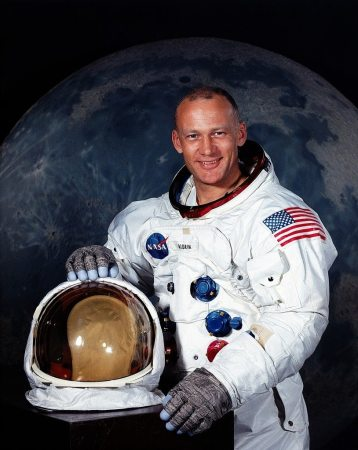 Astronaut and Germanna Descendant Buzz Aldrin