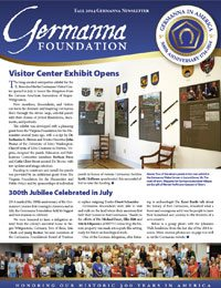 Germanna Foundation Newsletter, Fall 2014