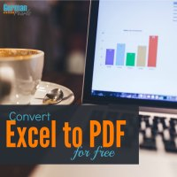 convert pdf to xl on one excel sheet