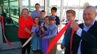 GERMAN SCHOOL campus Ribbon Cutting 2015