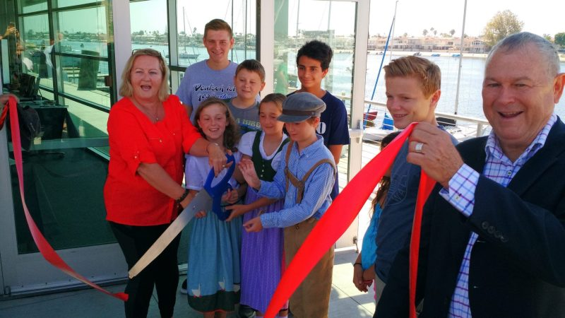 GERMAN SCHOOL campus Ribbon Cutting 2015