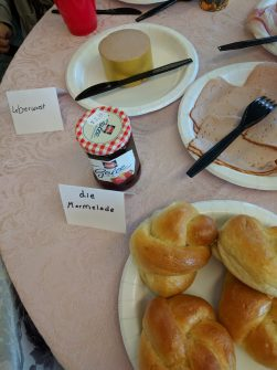 Leberwurst, die Marmelade