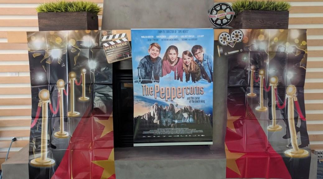 Movie night at GermanSchool campus Newport Beach