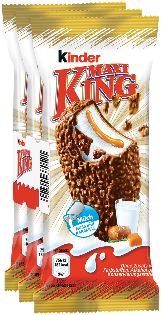 Kinder Maxi King 3 Pack