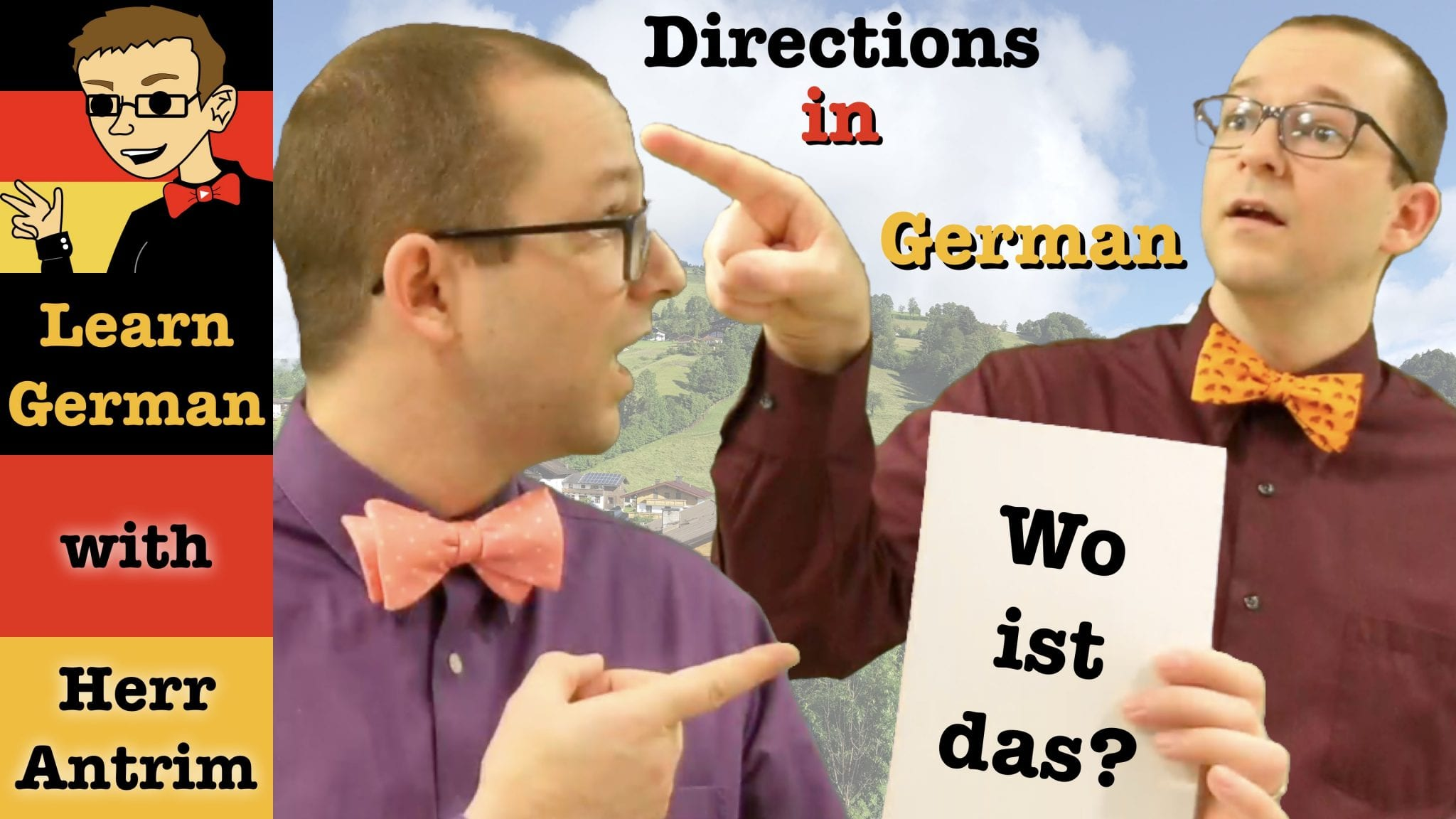 Giving Directions In German Extra Materials