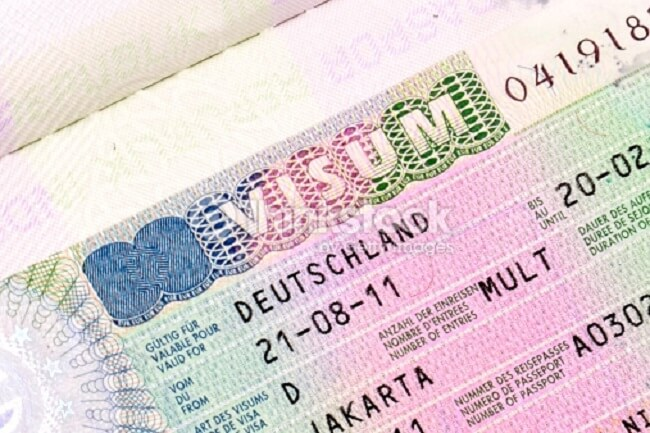 germany business visa traveling to