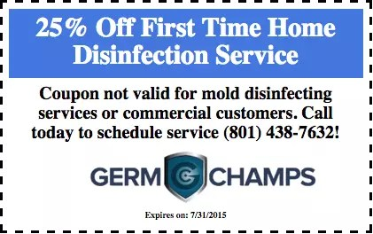 Disinfection Services Coupon