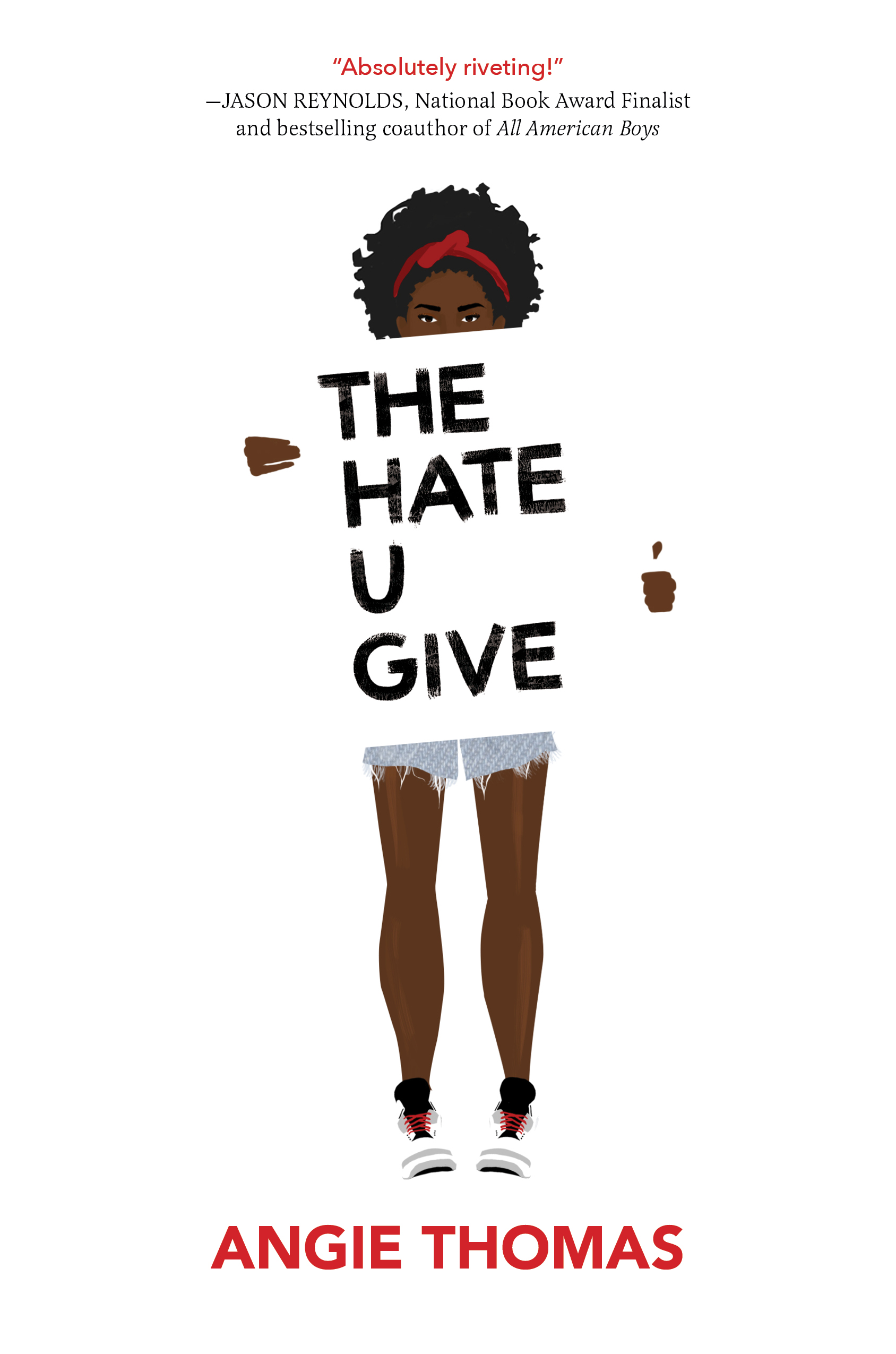 Image result for the hate u give book cover