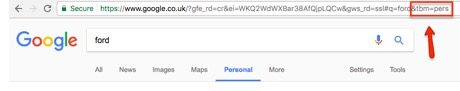 Google personal results 3