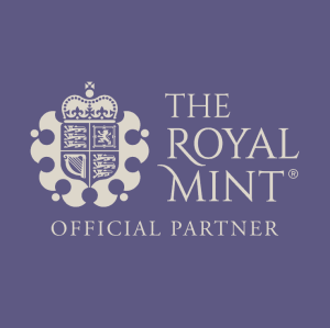 Royal Mint Official Partner logo - Purple Logo