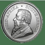 201 1oz silver Krugerrand coin obverse