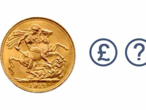 Determine value gold coin