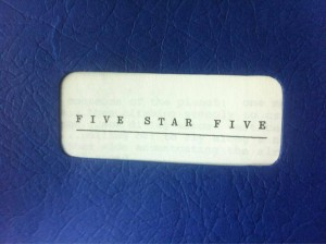Gerry Anderson's five star five (5 star 5)