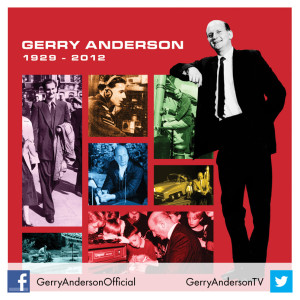 Gerry Anderson biography 1929-2012