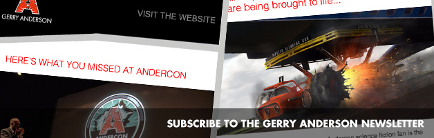 Subscribe to the Gerry Anderson newsletter