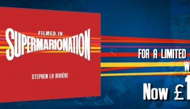 Filmed in Supermarionation, now £11.99