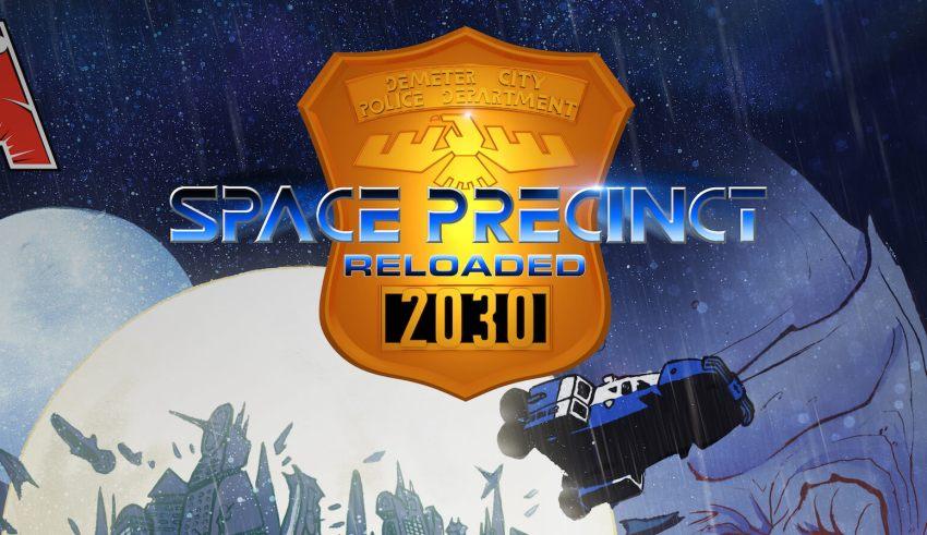 Space Precinct Reloaded logo