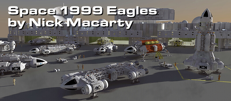 Space 1999 Eagles By Nick Macarty