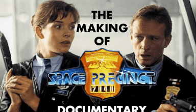 The Making Of Gerry Anderson's Space Precinct Documentary