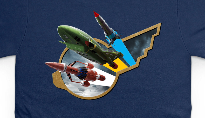 Limited Edition 2018 Thunderbirds Day T-Shirt Released