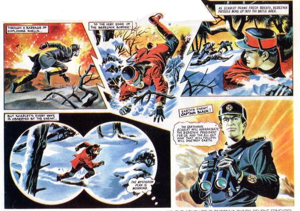 Mike Noble Captain Scarlet