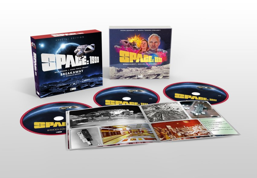 A Special Edition of the Space 1999 audio drama is available exclusively from the Gerry Anderson Store