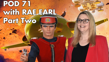 Rae Earl and Captain Scarlet