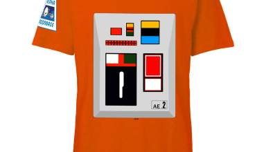 Space 1999 t-shirt