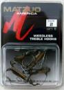 Matzuo 390021-2 weedless treble