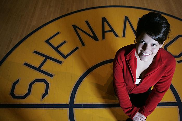An alternative portrait option of Shenandoah's Kate Hillman (C-T photo Max Gersh) ©2010