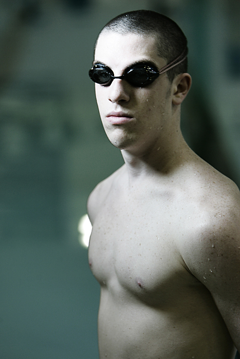 William Kelsik - Swimmer at New Castle Chrysler High School. (C-T photo Max Gersh) ©2010