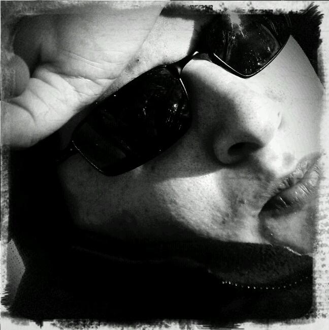 A camera-phone self portrait. ©2010