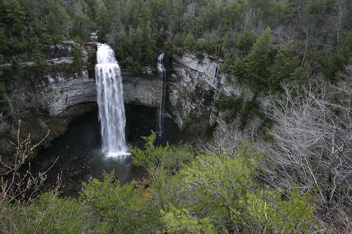 Fall Creek Falls is the tallest waterfall east of the Rockies at 256 feet. ©2011 Max Gersh