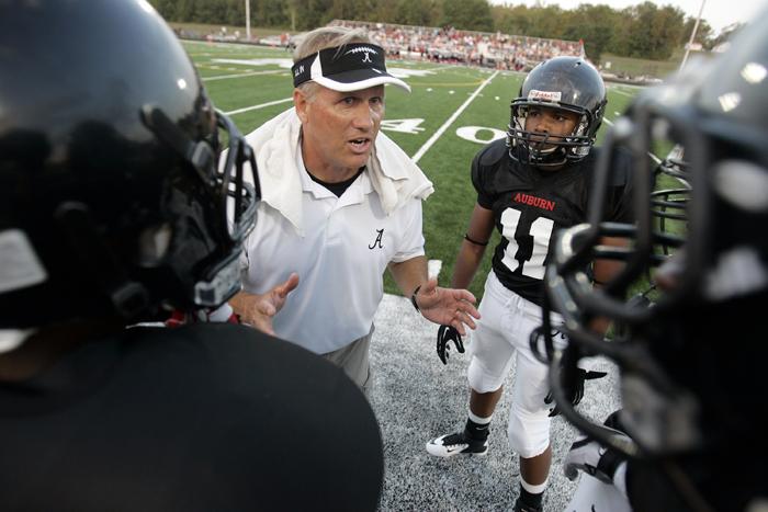 Auburn football coach Dan Appino