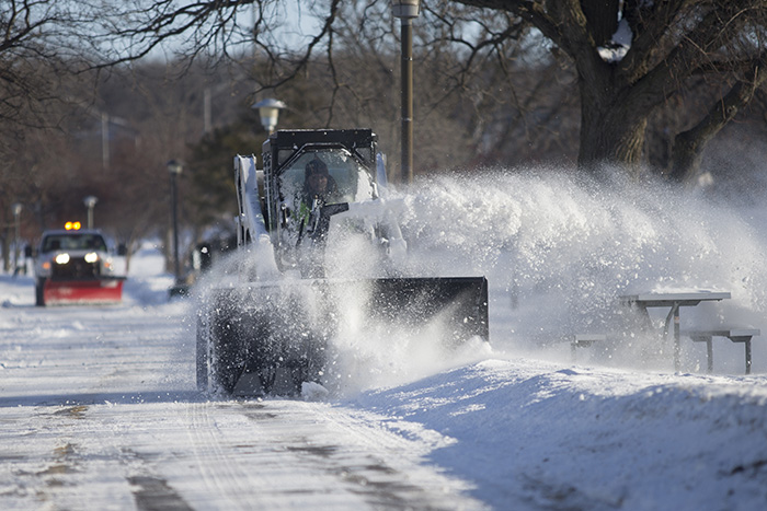 Big snow blower