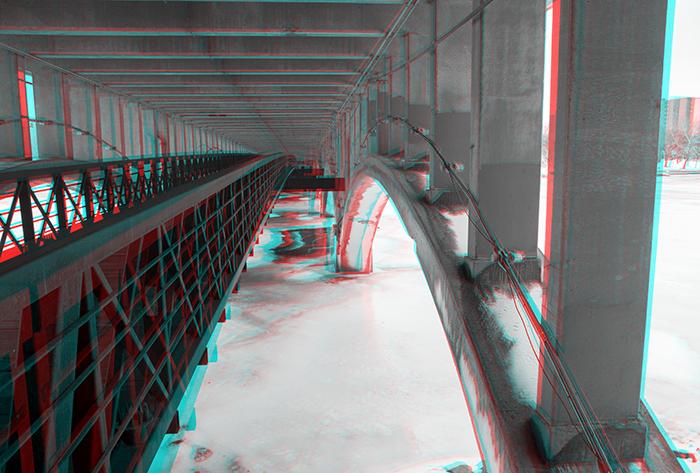 Jefferson Street Bridge. ©2014 Max Gersh