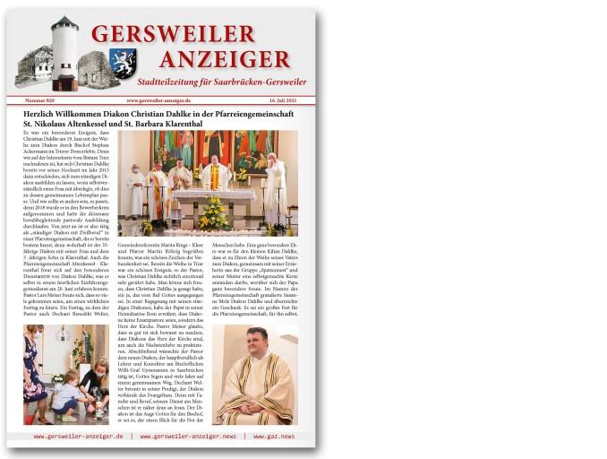 Gersweiler Anzeiger 07/2021