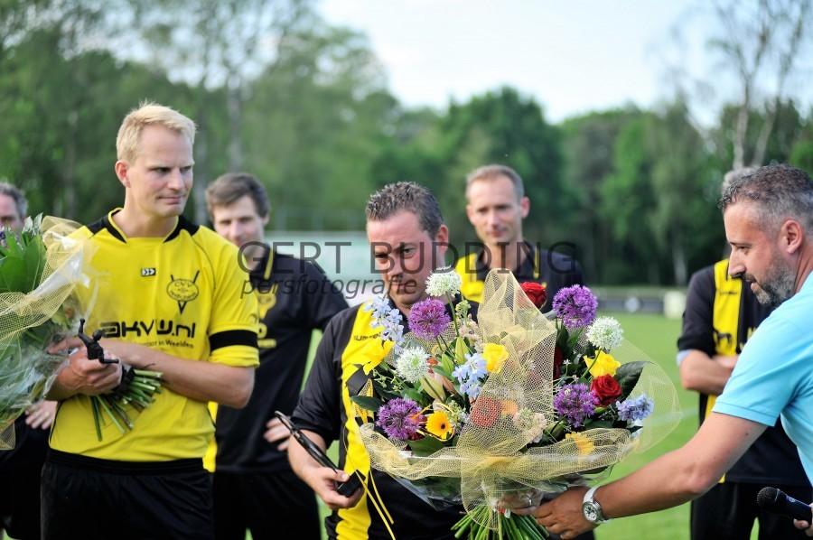 Redichem neemt afscheid club iconen Bovendeur en Kerkhof