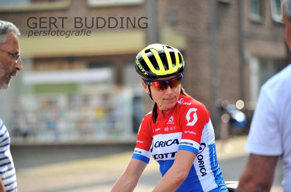 Annemiek van Vleuten met Boels Ladies Tour in Wageningen