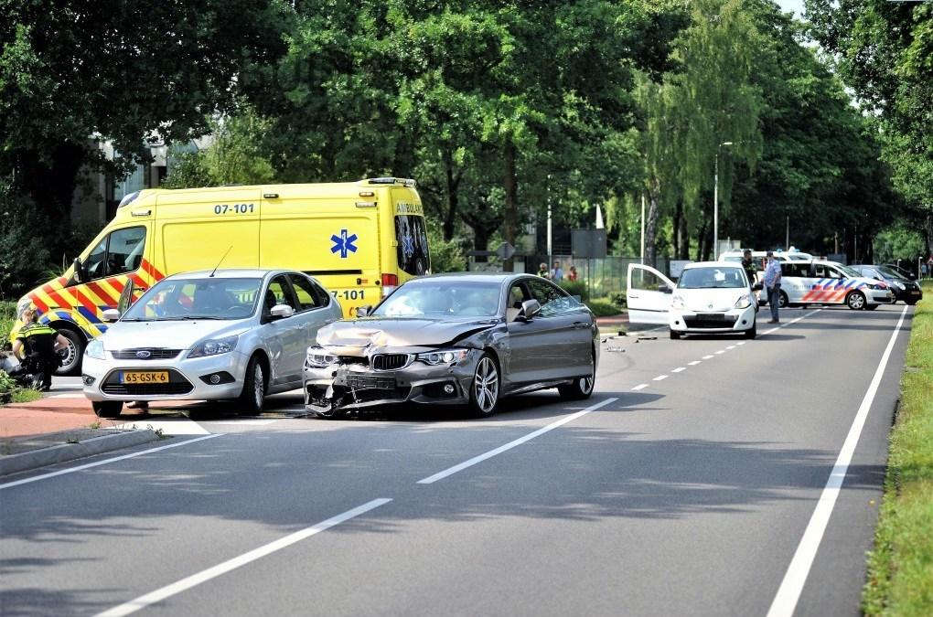 Drie auto's betrokken bij #botsing #Bennekomseweg #Renkum.